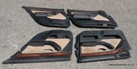 BMW E39 LHD Two Tone Beige Black Door Cards Rare 540i 530i 530d 528i 525tds Champagne Individual
