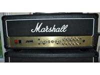 Marshall JVM 205H 50W Head with Footswitch and Padded Cover - JVM205 / JVM205H
