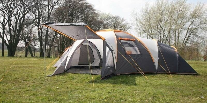 Rage Tromso Deluxe 10 Man Tent In Stone Staffordshire