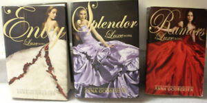 LOT OF 5 ANNA GODBERSEN BOOKS IN NEW CONDITION