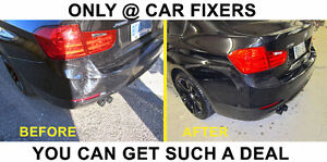 CAR ACCIDENT REPAIR, WE COVER YOUR DEDUCTABLE!!!