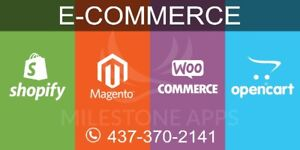 E-COMMERCE EXPERTS To Build Web & Mobile Apps. Call 437-370-2141