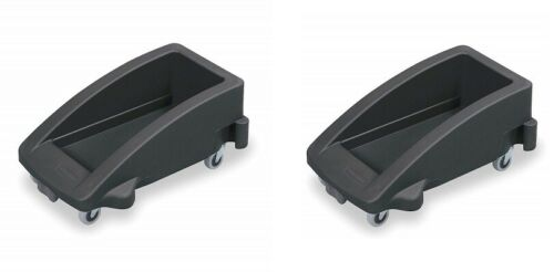 2 Pack Rubbermaid 3551-88 Slim Jim Trolley for 3540, 3541, 3554 Containers