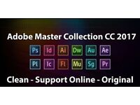 Adobe Master Collection CS6 & CC 2017 - Genuine PC or Mac Version