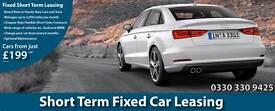 Short Term Car Leasing