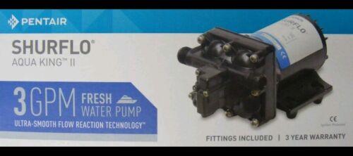 Shurflo Aqua King Standard Water Pump - 3.0 GPM. 3901-0216 (4138-111-E65)