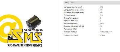 Engine Hydraulic Pump 24v 1kw Hpi 112237 Trolley Pallet Truck Electric