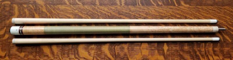 Zylr Pool Cue - Kerry Zeiler Buckhorn Birdseye Maple Billiard 2 shafts