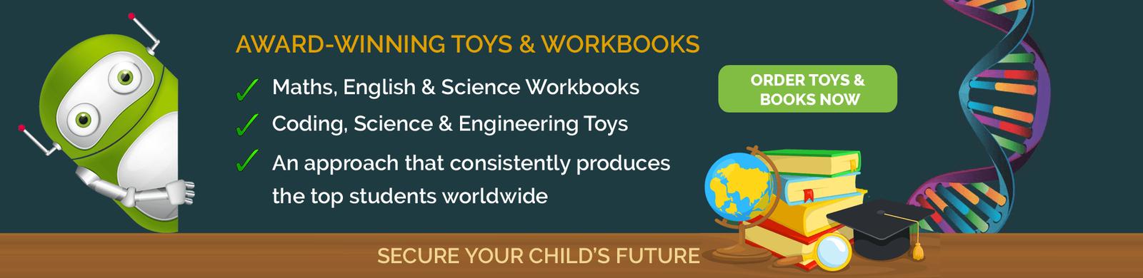 TheBalancedChild STEM Toys & Books
