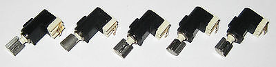 5 X Tiny Vibrator Motors - 4 Mm Dia. - Pager Cell Phone Micro Motor - 3 V Dc