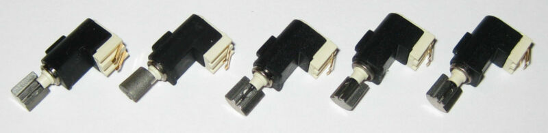 5 X Tiny Vibrator Motors - 4 mm Dia. - Pager / Cell Phone Micro Motor - 3 V DC