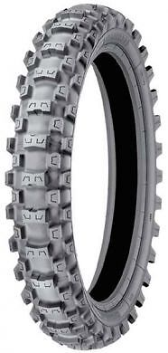 80/100-12 Michelin MS3 StarX MotoX MotoCross Motorcycle Motorbike Rear Tyre NEW