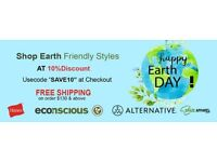 Celebrate Earth Day with Spaze Apparel