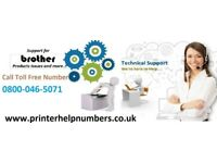 What is the procedure to clean up brother printer ink cartridge?