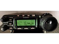 Yaesu Transceiver FT857D Compact mobile transceiver HF / VHF / UHF DSP