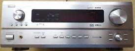 Denon AVR-2803 7.1 + Remote. Silver