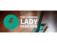 The Cleaning Lady Fareham - Now offering Ironing Services