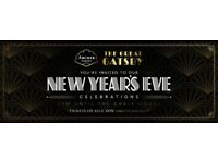 Selling 2 tickets to A New Years Eve Great Gatsby event at Archer Street Cocktail Bar, Soho, London