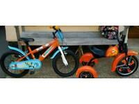 Boys bikes