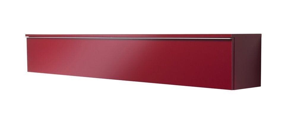 IKEA besta burs red high gloss wall unit cabinet ideal for ps4 Xbox ...