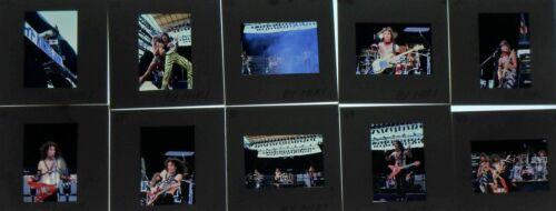 10 1985 BON JOVI ROCK BAND CONCERT PHOTO negative transparency  BY HIKI  #8
