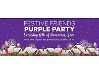 Alzheimer Scotland - Festive Friends Purple Party Event
