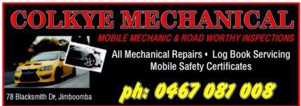 Mobile mechanic & mobile roadworthy's