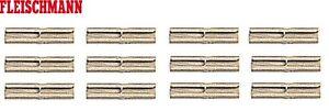 Fleischmann H0 6433 Isolier-Schienenverbinder Profi-Gleis (12 Stück) - NEU + OVP