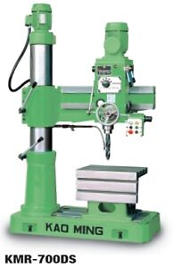 Kao Ming Radial Arm Drills