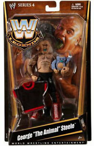 "George ""The Animal"" Steele wrestling figures $15"