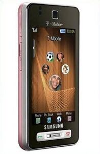 SAMSUNG BEHOLD T919 - ROSE PINK (UNLOCKED) T-MOBILE AT&T CELL PHONE