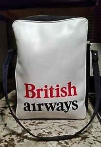 Vintage 1970s British Airways Union Jack, Vinyl Shoulder Bag Kitchener / Waterloo Kitchener Area image 2