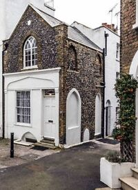 Therapy / Treatment Room for Hire. Grade II Listed Cottage, Ramsgate, Close to Seafront, Bills Inc.