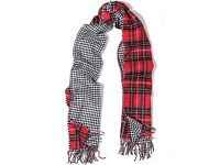 lovely tartan scarf