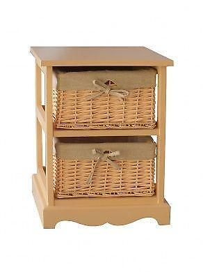 wicker bathroom cabinet ebay