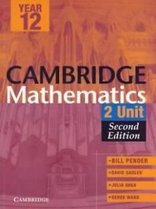 YEAR 12 - CAMBRIDGE MATHEMATICS 2 UNIT - SECOND EDITION Randwick Eastern Suburbs Preview