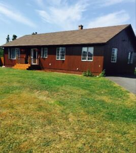For Sale: Beautiful Cedar Rancher On Mira River with 4 acres