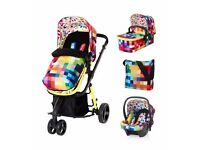 Cosatto Giggle 2 Travel System in Pixelate