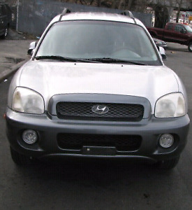 2001 Santa Fe GL New Head Gasket New Timing Belt Excellent Drive