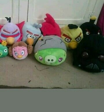 Angry birds plush soft toys