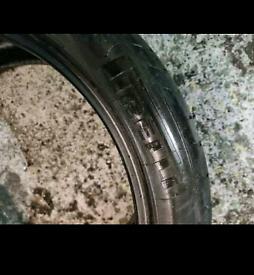 19 inch part worn tyres x3