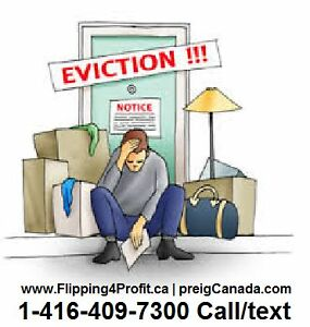 The Eviction process by Sheriff in Ontario