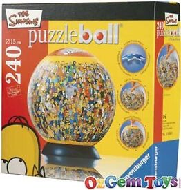 Simpsons puzzle ball