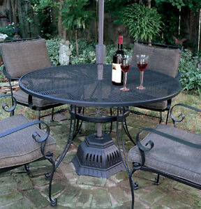 Electric Umbrella Stand Patio Forced Air Heater