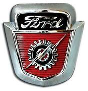 1953 Ford Hood