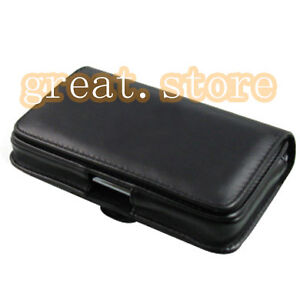 Belt Leather Pouch Case For Samsung Galaxy Note 2 II N7000 i9220 GT N7100 16GB