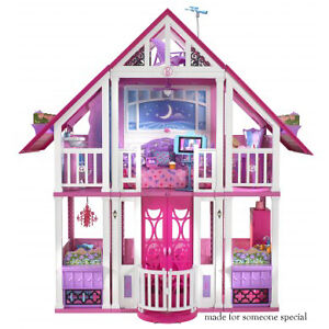 Barbie-California-Malibu-Dreamhouse-Doll-House-Brand-New-in-Box
