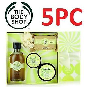 NEW BODY SHOP 5PC GIFT SET 219176625 MORINGA COLLECTION FESTIVE PICKS CHRISTMAS XMAS HOLIDAY GIFTS PACK