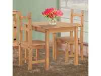 Very New Corona Pine Dining / Kitchen table 80.5cm x 80.5cm easy to transport