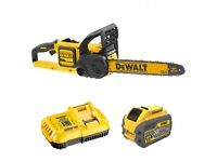 Dewalt's new 54 Volt Chainsaw kit.
